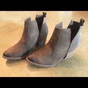 Tan Leather Booties